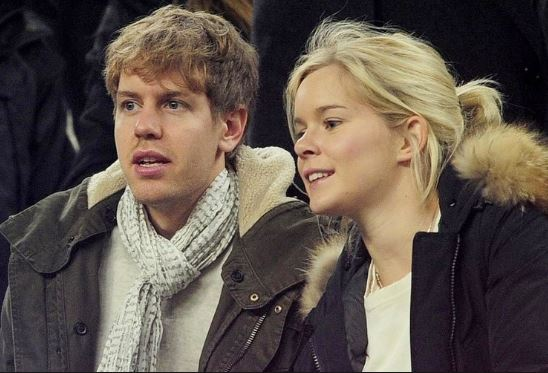 Sebastian Vettel :married, wife, partner, children, age, salary, height