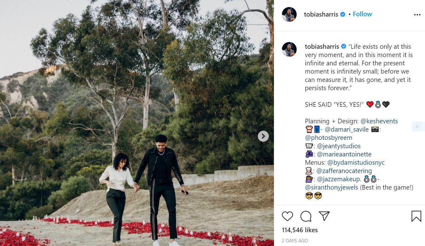 Tobias Harris Bio, Age, Engagement, Fiancee, Networth, Height, Salary