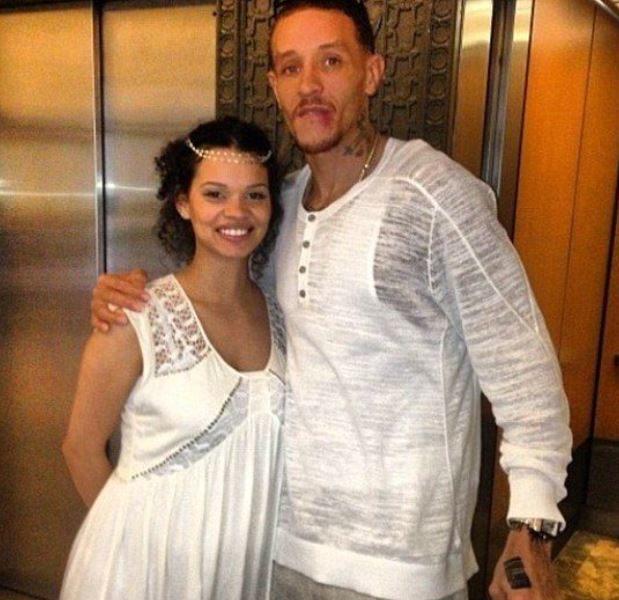 Caressa Suzzette Madden: Spouse of Delonte West